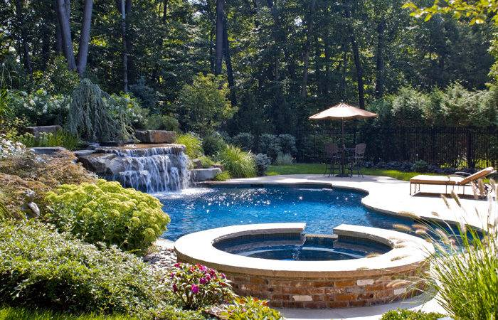 Swimming Pool Waterfall Designs Architecture Home Design