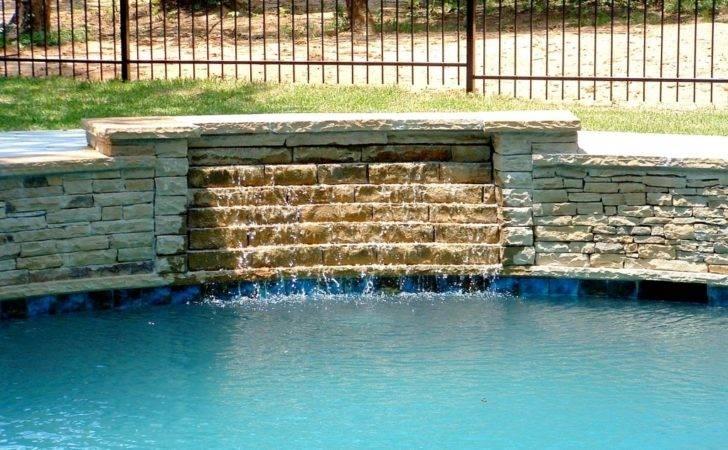 Swimming Pool Waterfall Designs Pools Waterfalls Home Decor