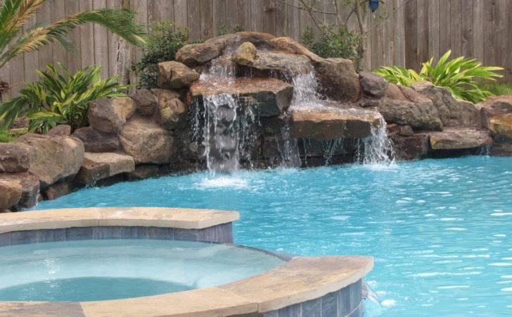 Swimming Pool Waterfalls Ideas
