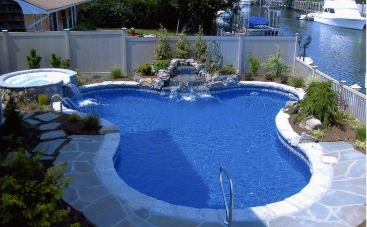 Swimming Pools Attractive Pool Landscape Design