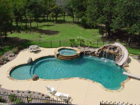 Swimming Pools Slides Hot Tubs Diving
