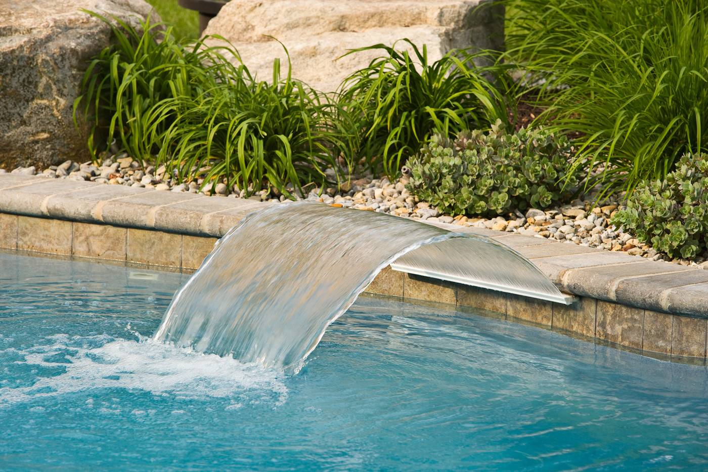 Swimming Pools Waterfalls Pool Features