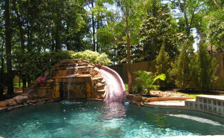 Swimming Pools Waterfalls Pool
