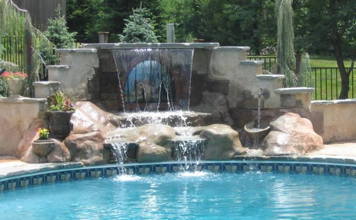 Swimming Pools Waterfalls