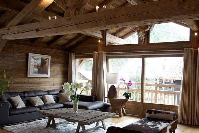 Swiss Alps Chalet France Interior Design Cabin