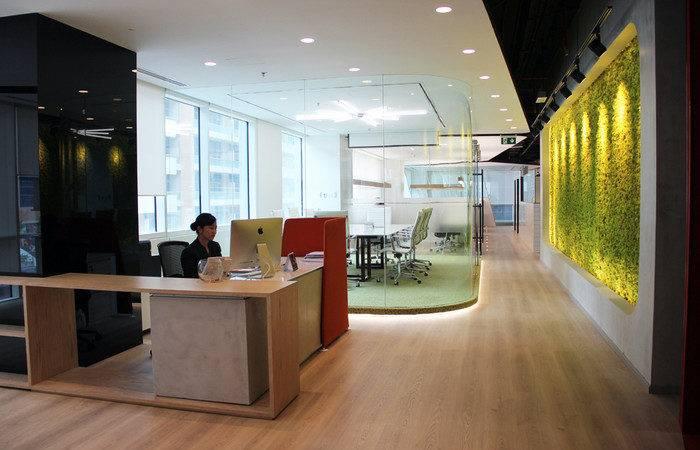 Swiss Bureau Interior Design Ezelink Telecom Offices Dubai