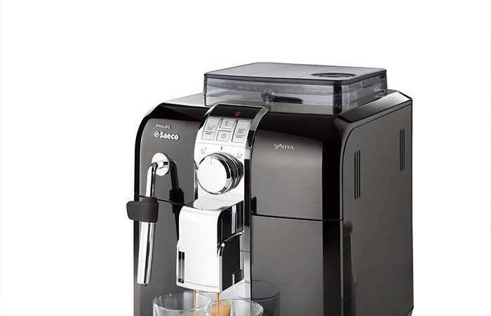 Syntia Super Automatic Espresso Machine Saeco
