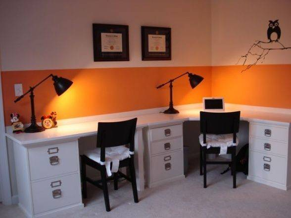 Table Just Simply Stick Top Cabinets Home Offices Design