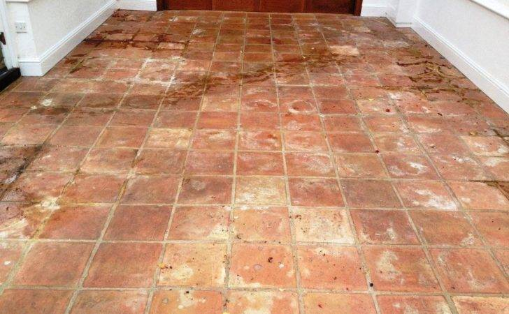 Tackling Stained Terracotta Tiles Conservatory Stone Cleaning