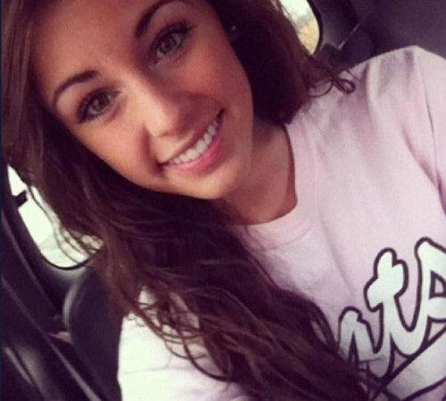 Tagged Beautiful Girl Kim Hays Pretty Smile Brown Hair Cute