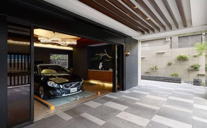 Taipei Apartment Building Lounge Area Ching