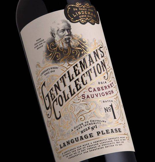 Tapplabel Lindeman Gentleman Collection Lovely Package