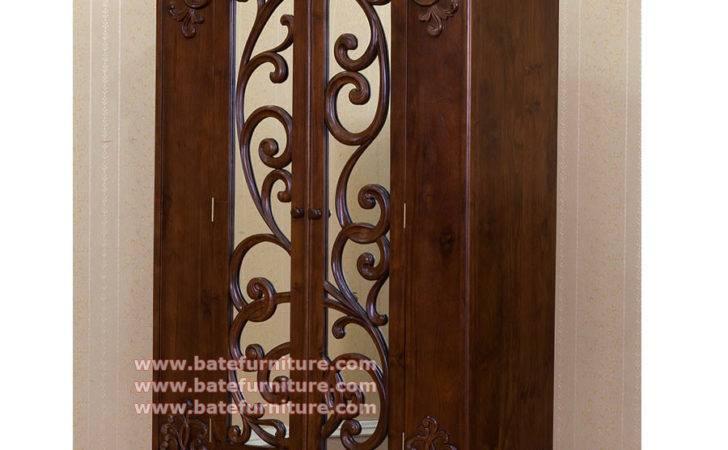 Teak Wardrobe Jepara Made Grade Wood