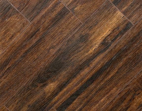 Teak Wood Plank Porcelain Tile Matte Polished