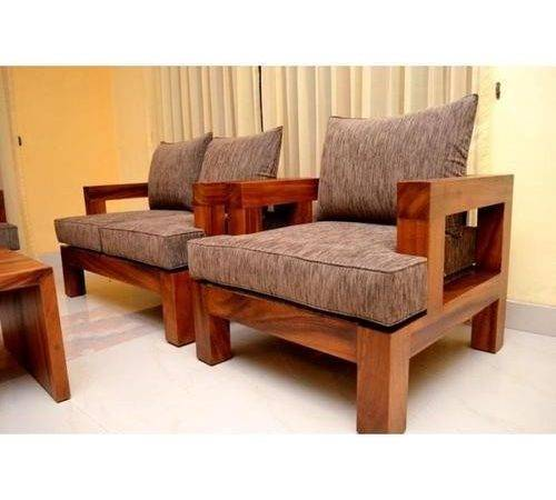 Teak Wood Sofa Set Wooden Wardrobes Furniture Space