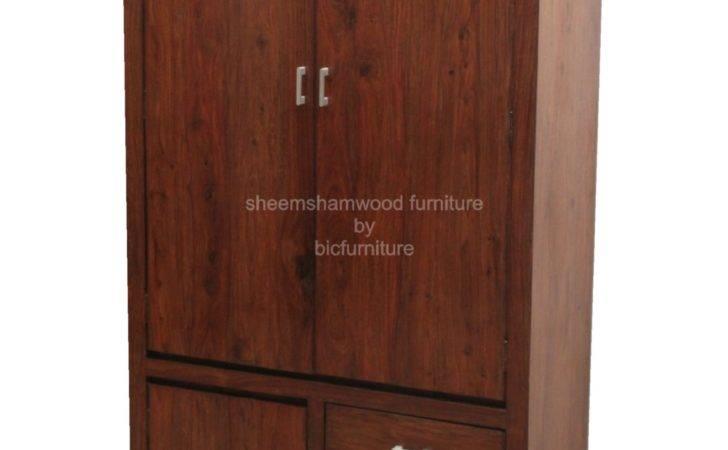 Teak Wood Wardrobe Details Bic Furniture India