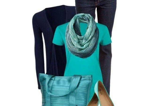 Teal Navy Blue Cute Duds Mommy Pinterest