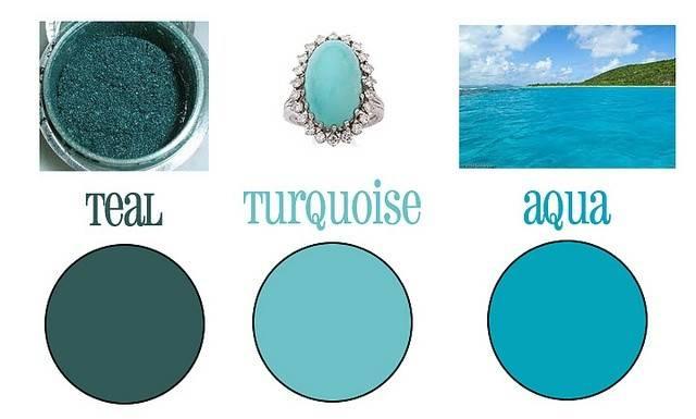 Teal Turquoise Aqua Thecraftyblackbird Via Flickr Wedding