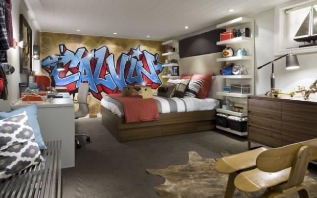 Teen New Bedroom Basement Fun Functional