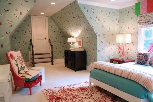 Teenage Girl Room Butterfly