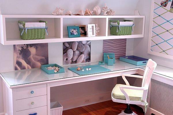 Teenage Girl Study Bedroom Lori Ludwick