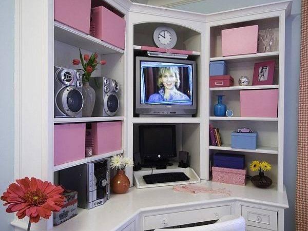 Teenage Girl Study Corner Lori Ludwick