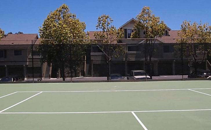 Tennis Courts Flower Fields Apartments Carlsbad