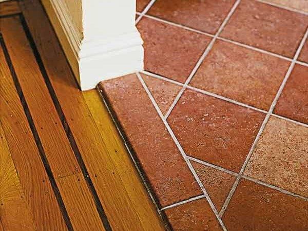 Terra Cotta Look Floor Tile Actually Durable Porcelain