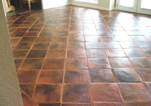 Terra Cotta Saltillo Wall Floor Tile Austin Rustico