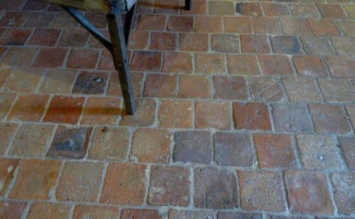 Terra Cotta Tile Flooring Really Antique French Floor
