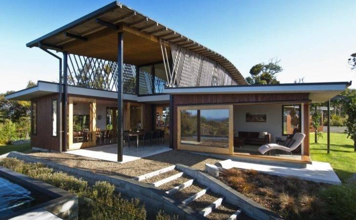 Terrace Hilltop Home Stunning Views Ngunguru New Zealand