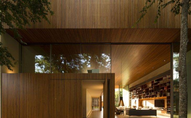 Tetris House Creatively Organized Modern Brazilian Home