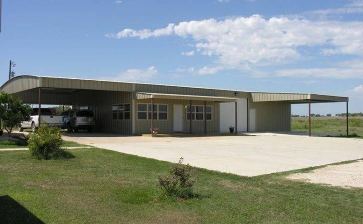 Texas Metal Homes Steel Barn