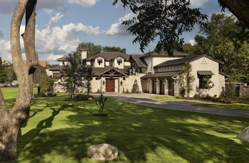 Texas Rustic Home Modern Design Luxury
