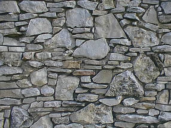 Texture Stone Stacked Gray