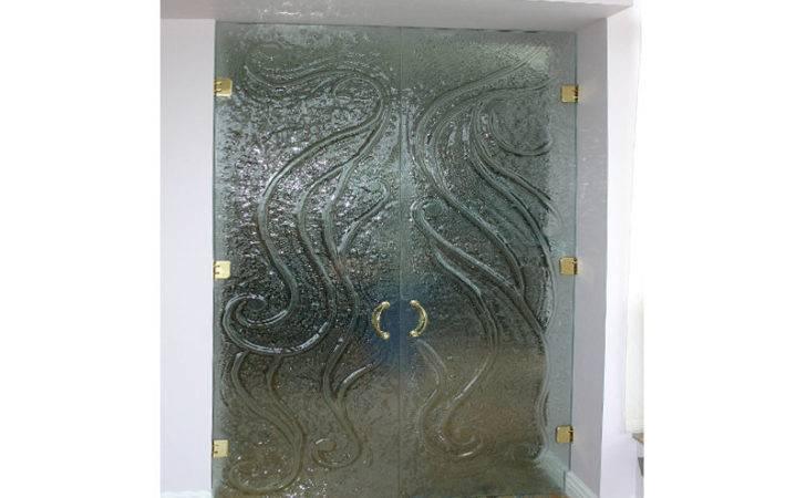 Textured Glass Door Frm Cbd