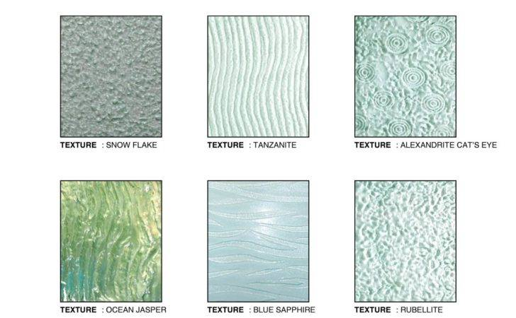 Textured Glass Malaysia Reno Designer