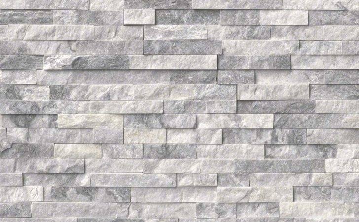 Tez Marble Alaska Gray Natural Stacked Stone Veneers San Francisco