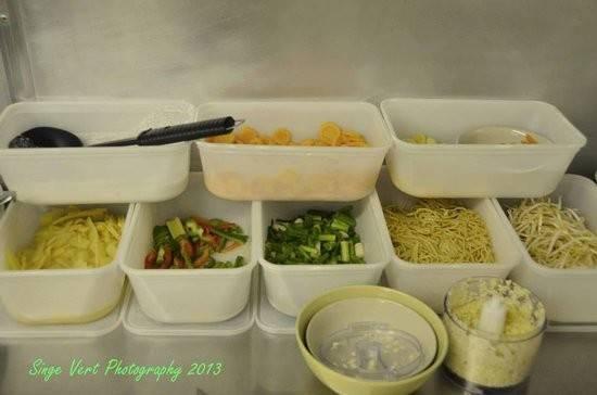 Thai Delights Does Look Like Frozen Veg