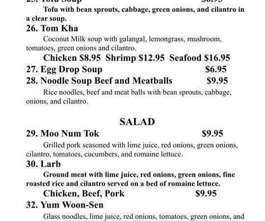 Thai Delights Restaurant