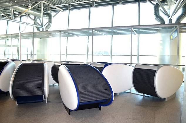 Than Others Above Sleeping Pods Helsinki Vantaa Airport