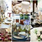 Thanksgiving Table Centerpiece Ideas Homes