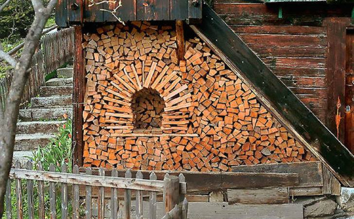 These People Turned Log Piling Into Art Form