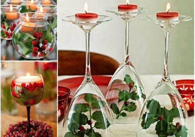 These Wine Glass Centerpieces Give Ideal Atmosphere Room