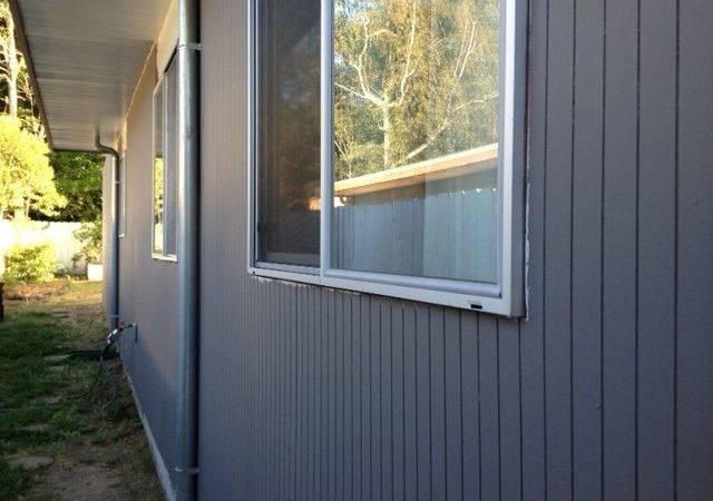 Thin Vertical Eichler Siding House Cladding Colors Exterior Fea