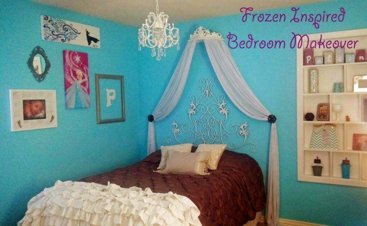 Things New Crafty Adventures Frozen Inspired Bedroom Makeover