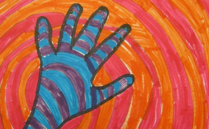 Think Create Art Warm Cool Color Hands Grade