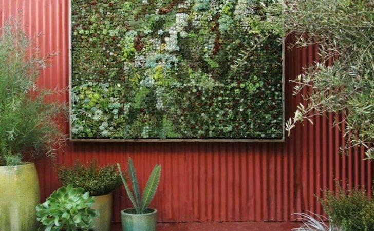 Think Green Vertical Garden Ideas