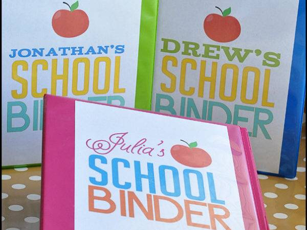 Thirtyhandmadedays Binder Decorating Ideas School