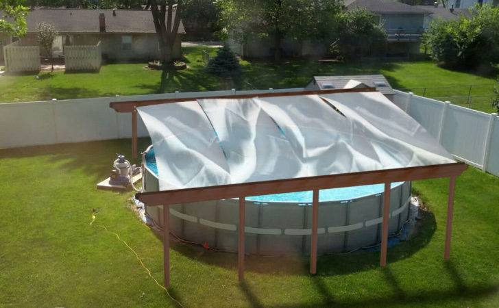 Thread Building Canvas Shade Over Pool Opinions Please